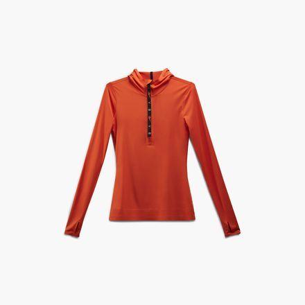 d943dd98c1 Reebok Women's Victoria Beckham Hooded Top in Swag Orange Size XS ...