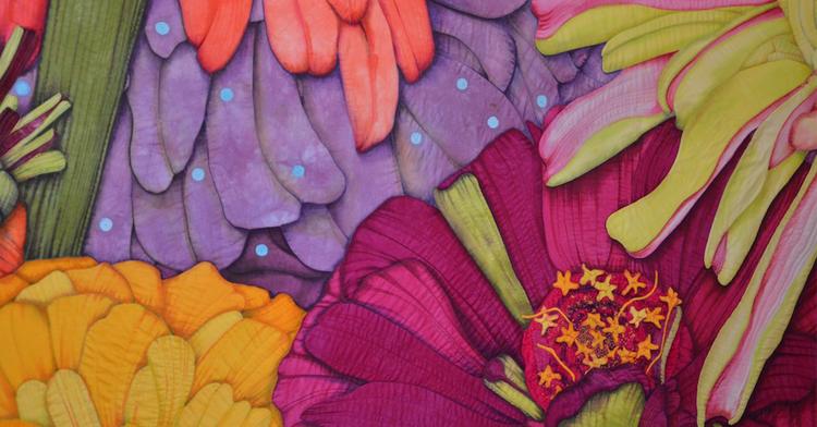 Velda Newman interview: Colour, shape & texture