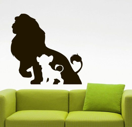 The Lion King Wall Sticker Wall Vinyl Decal Movie Sticker Home Decoration  Home Interior Living Room