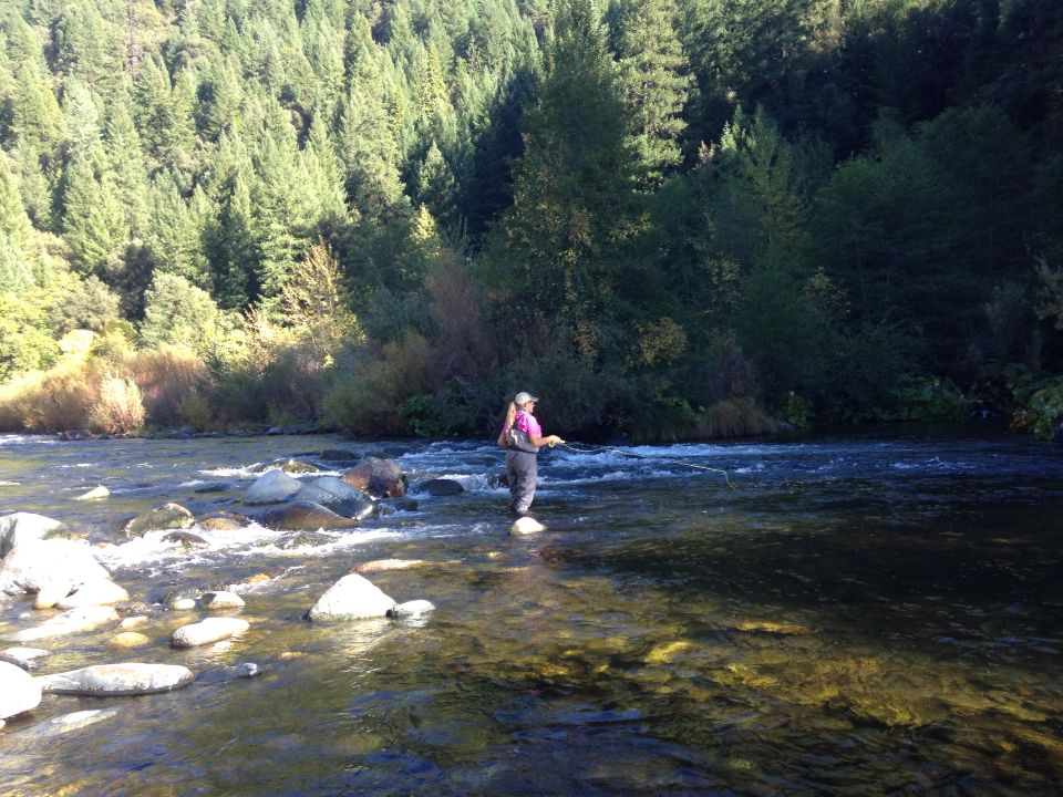 Fly Fishing On The Upper Sac River River Fly Fishing Natural Landmarks