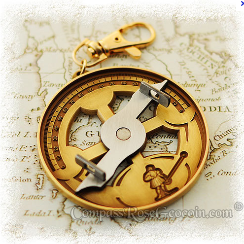 I'd love to have an astrolabe.  This one is a little modern for me though.