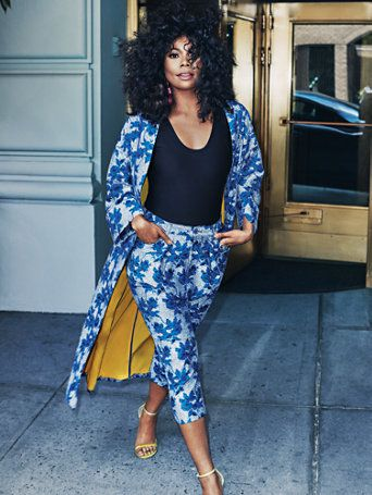 32144d91db3 Shop Gabrielle Union Collection - Long Floral Kimono. Find your perfect  size online at the best price at New York   Company.