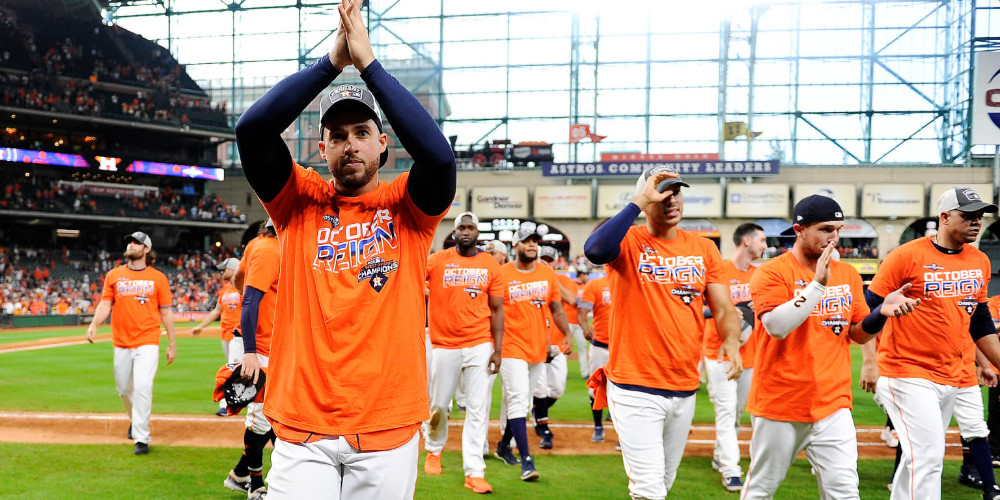 The Astros Weren T Going To Be Denied On This Day Not With Justin Verlander On The Mound With A Chance To Win 20 Games Astros Houston Astros Oakland Athletics