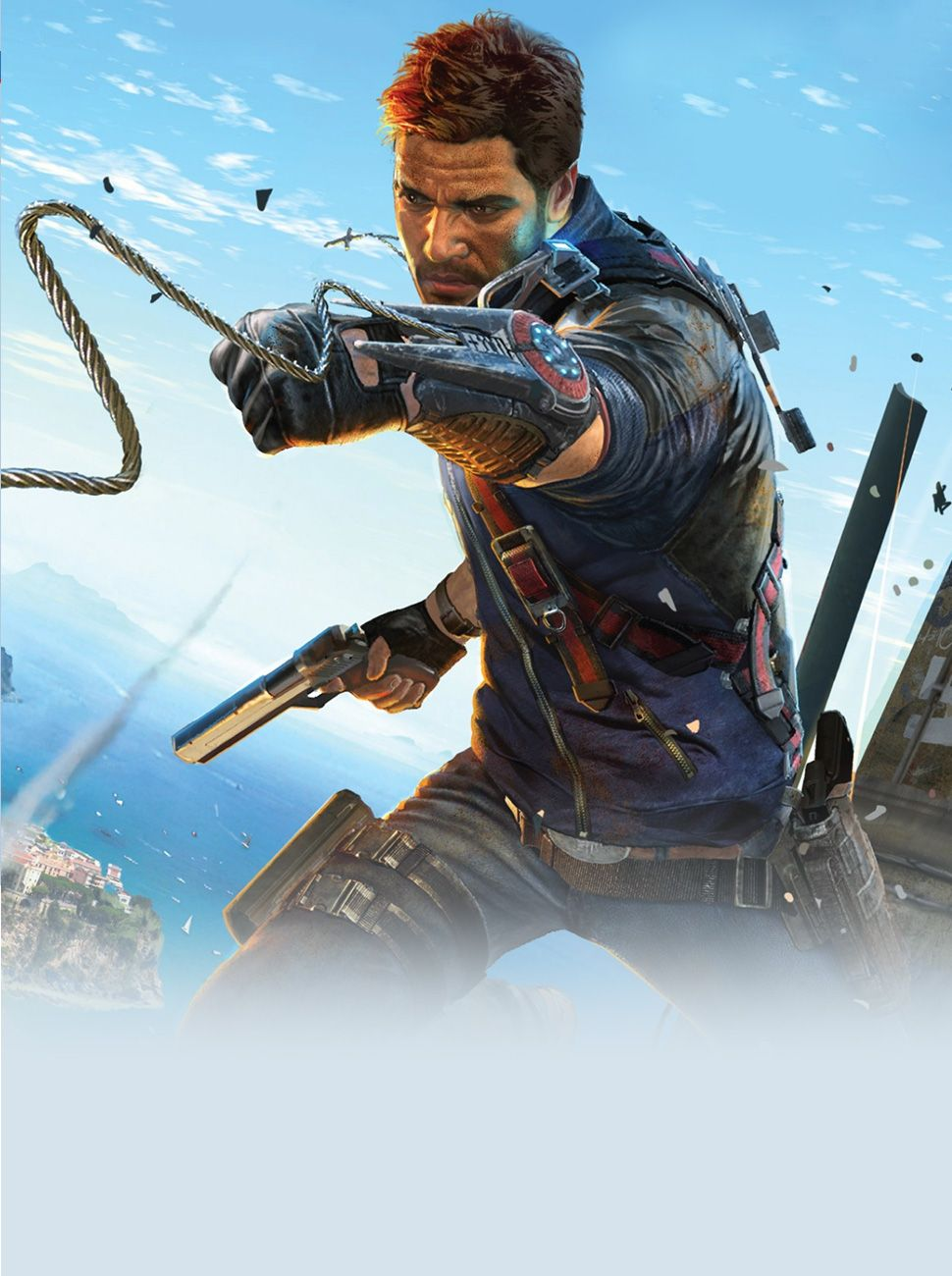 Just Cause 3 Wallpaper New Game From The Trilogy This Last Guardian Ps4 Reg Could Either Be Placed As A Double Page Spread Or At One Of Review Pages Since It Is