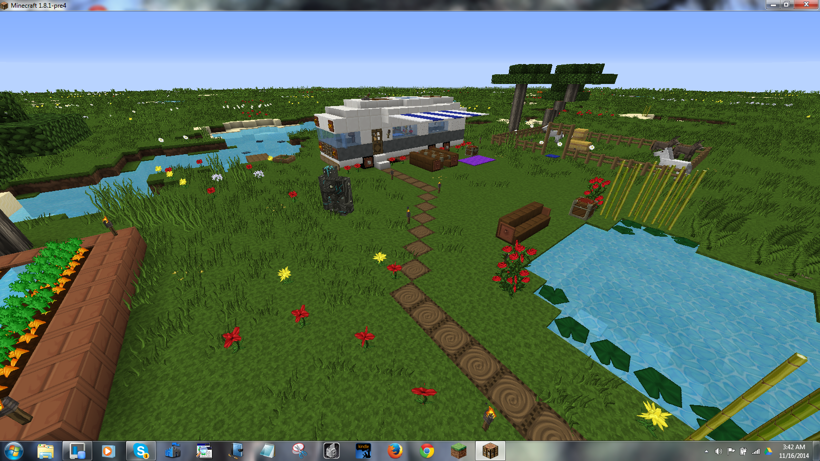I Built This Following A Lets Build Minecraft Vehicle Tutorial How - Minecraft gutes haus bauen anleitung
