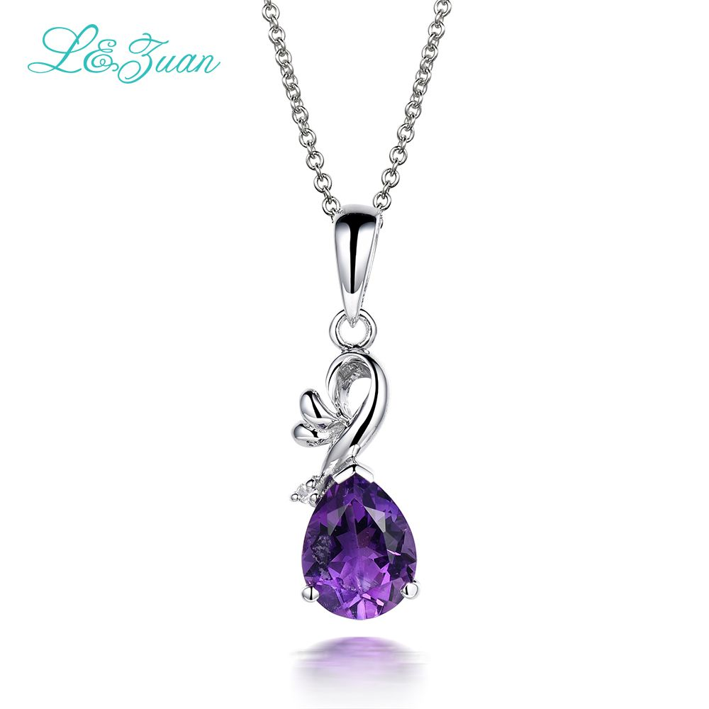 cm plated hires crystal purple stone necklace gold short logomania en rose