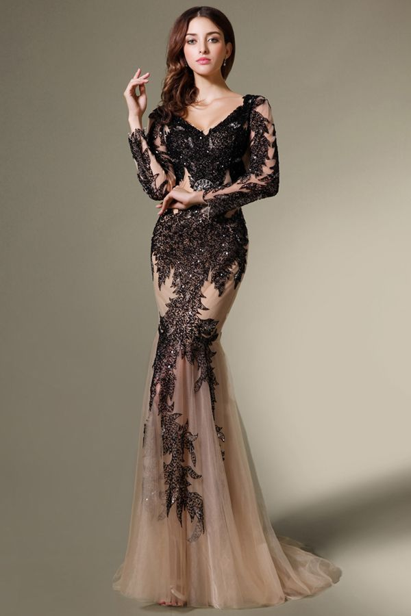 See-through Embellish Lace Evening Pageant Dress.. OMG. Mom ...