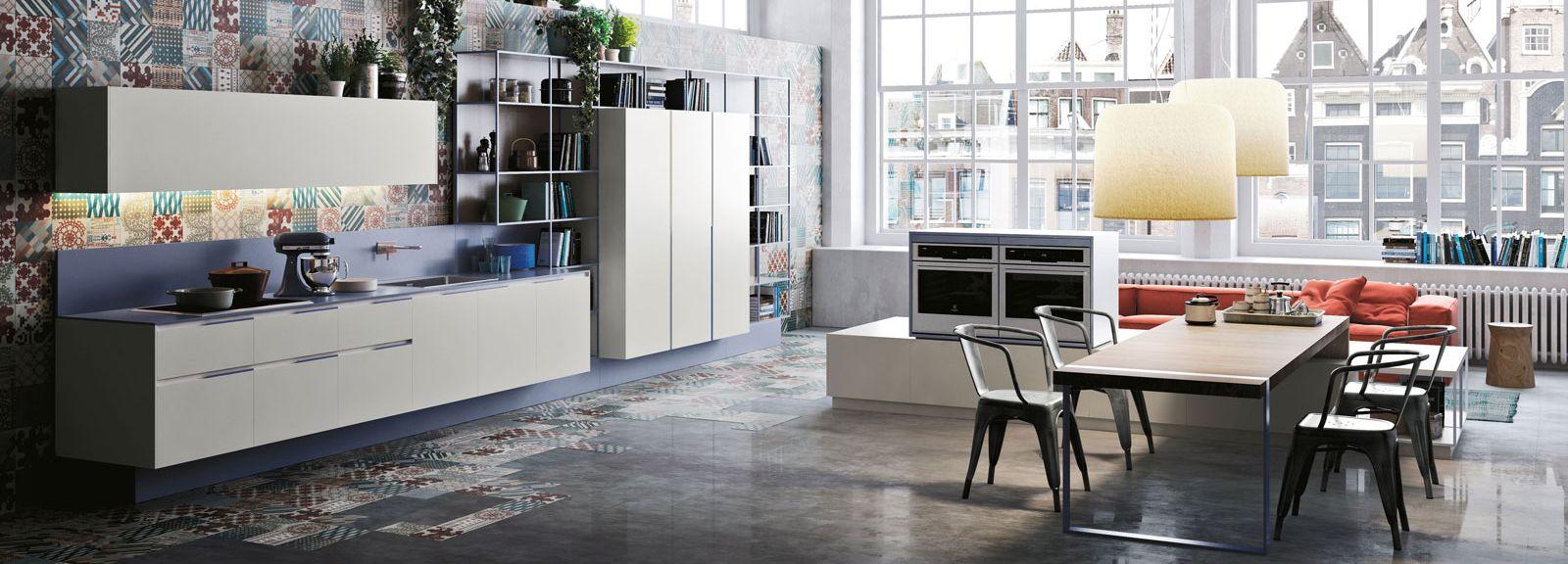 Cucine bianche: e la stanza sembra più grande e luminosa