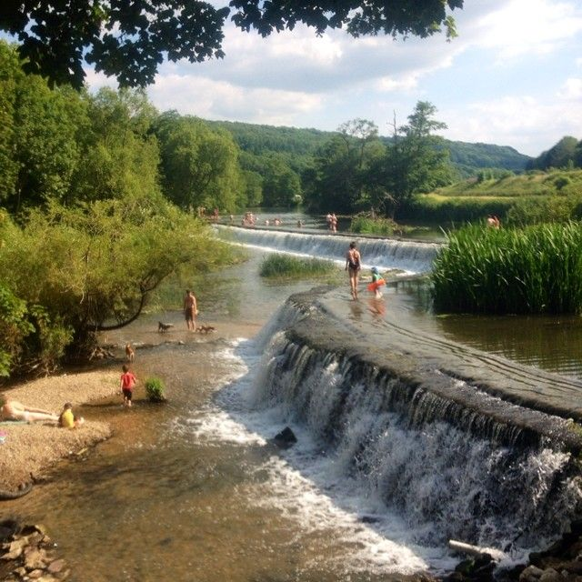 Claverton wildswimming summer weir swimming d cors - University of bristol swimming pool ...