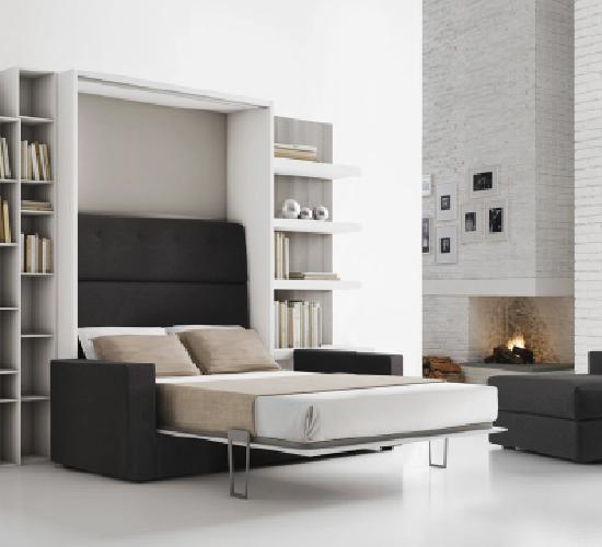 lit escamotable gain de place | casa | pinterest | cuisine studio