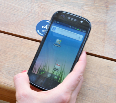 How to use an NFC tag to instantly pair any NFC phone or