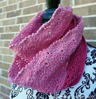 Shin-yo (means best friend in Japanese) Infinity Scarf.  Quick project and makes a great gift.