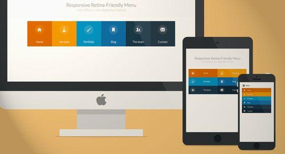 Responsive Retina Ready Menu Tutorial Freebiesbug Web Design Resources Web Design Tutorials Web Development Design