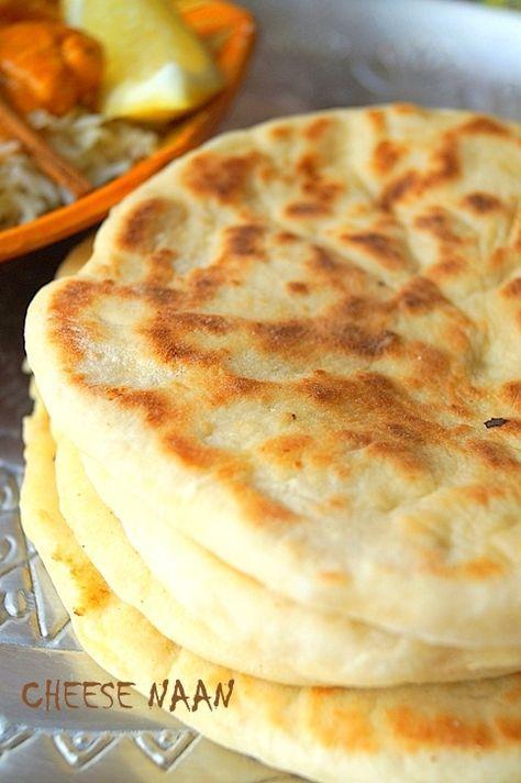 Cheese naan pain indien au fromage (recette facile) Encore une délicieuse recette de la cuisine in