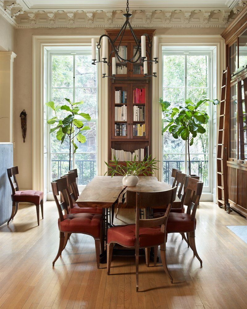 Asian Dining Room In Brooklyn NY By Kathryn Scott Design Studio