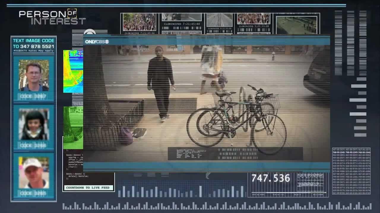 Good concept outdoor interactive for a CBS series