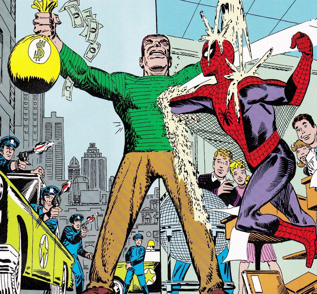 The Amazing Spider-Man vs. Sandman - by Steve Ditko ...