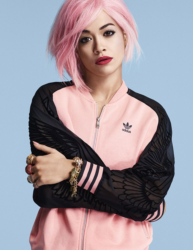 Un toque de color para Adidas Originals by Rita Ora glamasia