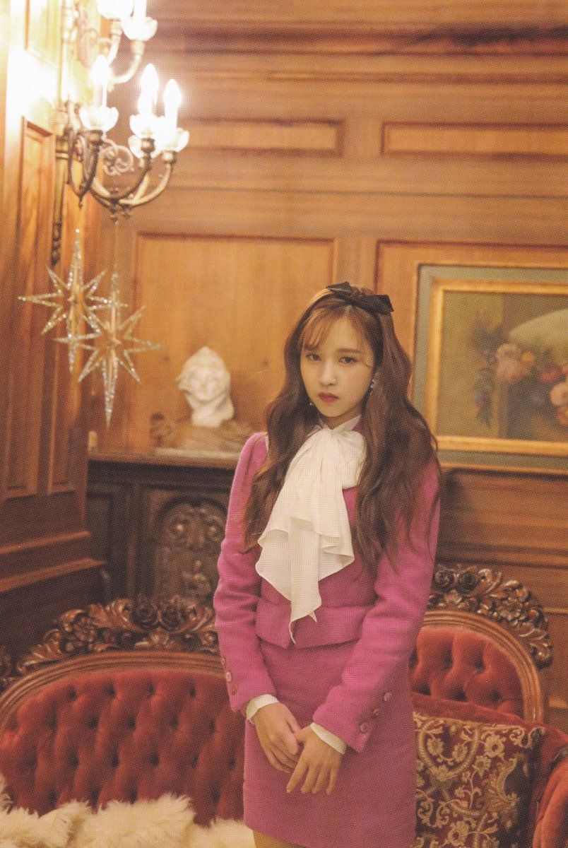 SCAN] The Year Of Yes Monograph Jacket Shooting | Mina in 2019