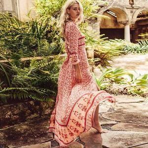 #inspired #floral #print #dress #boho #maxiBoho Inspired Floral Print Maxi Dress