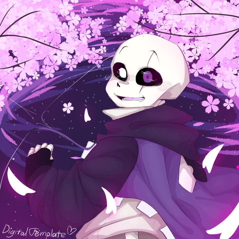 Digital Template A Genuinely Happy Epic Wanted Him To Be Happy For In 2020 Undertale Drawings Anime Undertale Undertale