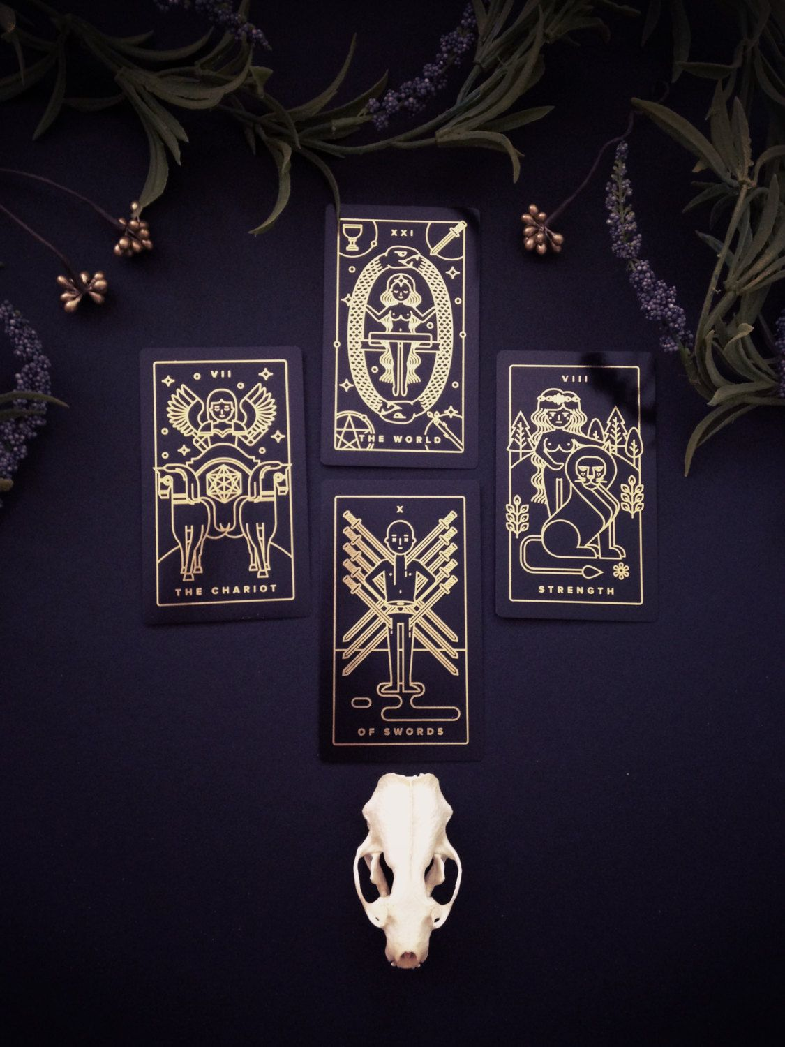 If you ever wanted to learn tarot, the Golden Thread Tarot Deck uses a modern approach to tarot with simple symbols and a way to learn tarot with a completely free companion app.