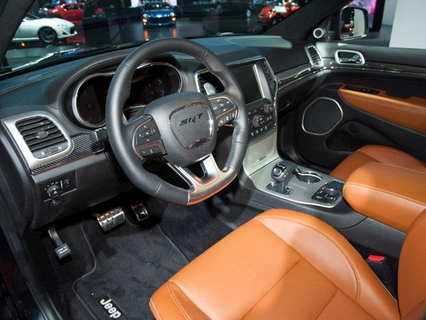 Revealed 2014 Jeep Grand Cherokee Srt Detroit 2013 Jeep Grand