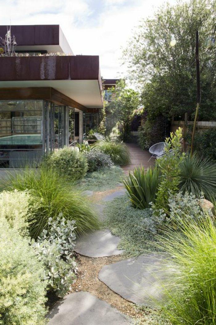 Nos Propositions En Videos Pour Faire Une Allee De Jardin Jardin Moderne Design Jardin Joli Jardin