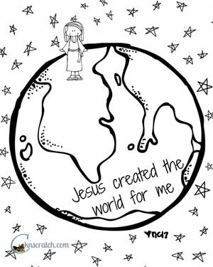 Behold Your Little Ones Lesson 7: Jesus Christ Created the