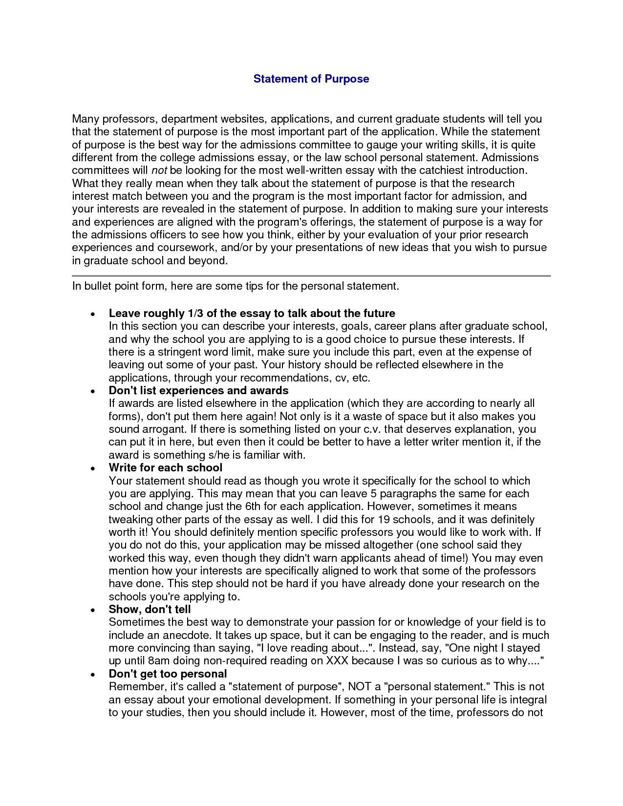 Professional Goal Statement For Nursing Graduate School Example Essay Admission What I A Personal