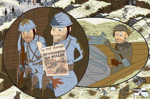 La Premiere Guerre Mondilae Expliquee Aux Enfants Premiere