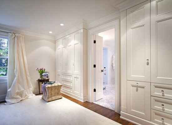 No Walkin Closet Built In Wardrobes Sticks Out A Couple Inches On