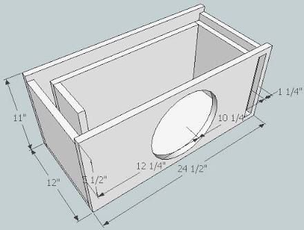 Subwoofer Box Design For 12 Inch Ile Ilgili Gorsel Sonucu Subwoofer Box Design Subwoofer Box Speaker Box Design