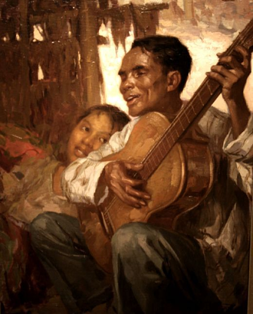 The Controversial Paintings Of Amorsolo And Luna Philippine Art Filipino Art Filipino Culture