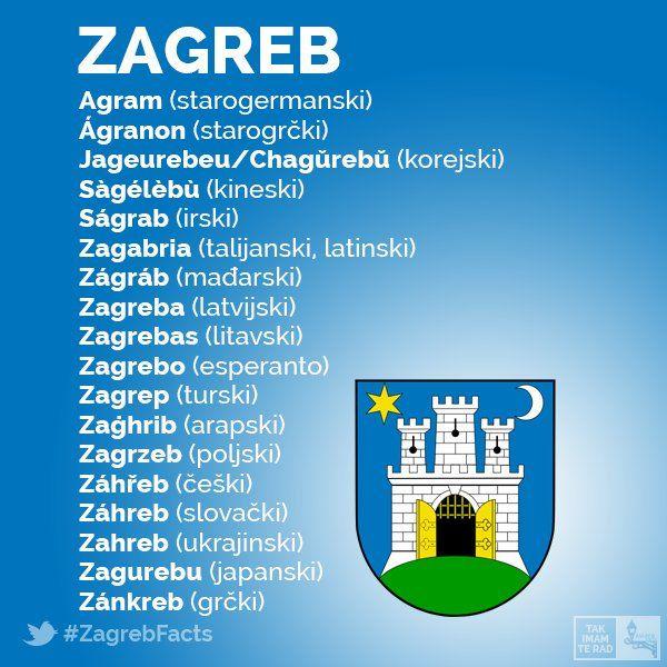 Zagrebfacts Hashtag On Twitter Zagreb Zagreb Croatia Book Writer