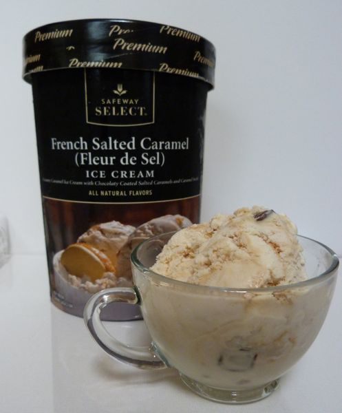 This is my new favorite ice cream ♥  French Salted Caramel!!!!!!