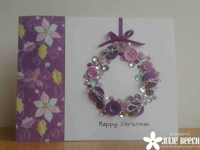 Crafted by Jules: Purple Christmas