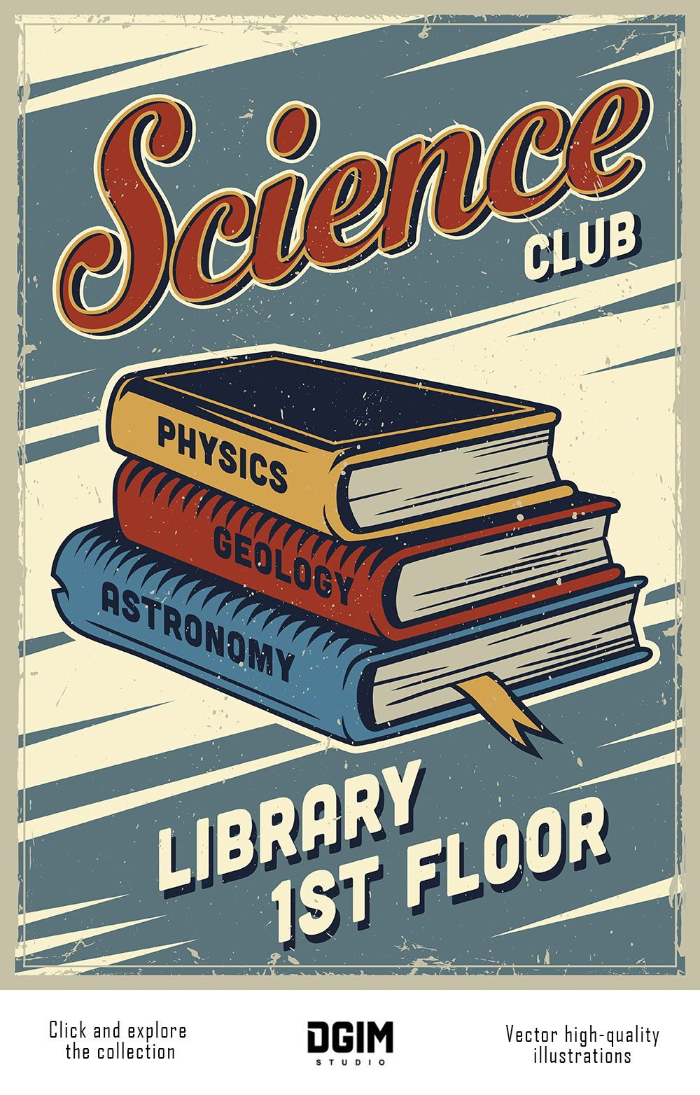 Vintage College Emblems Set Retro Poster Vintage Poster Design Poster Vintage Retro