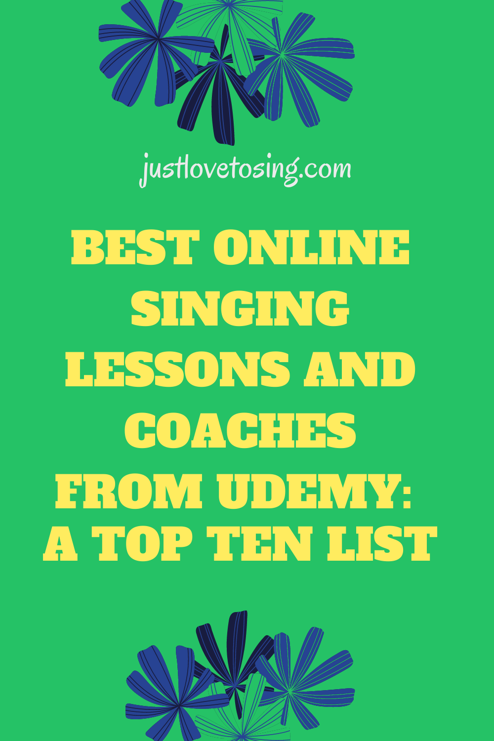 Top 10 online singing lessons and coaches from Udemy