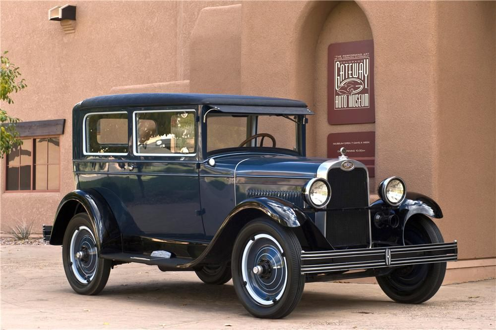 1928 CHEVROLET NATIONAL AB 2 DOOR COACH 1920s Cars