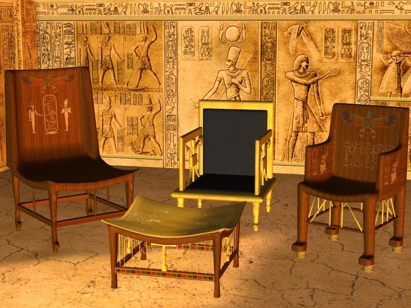 history of interior design ancient egypt - Buscar con Google
