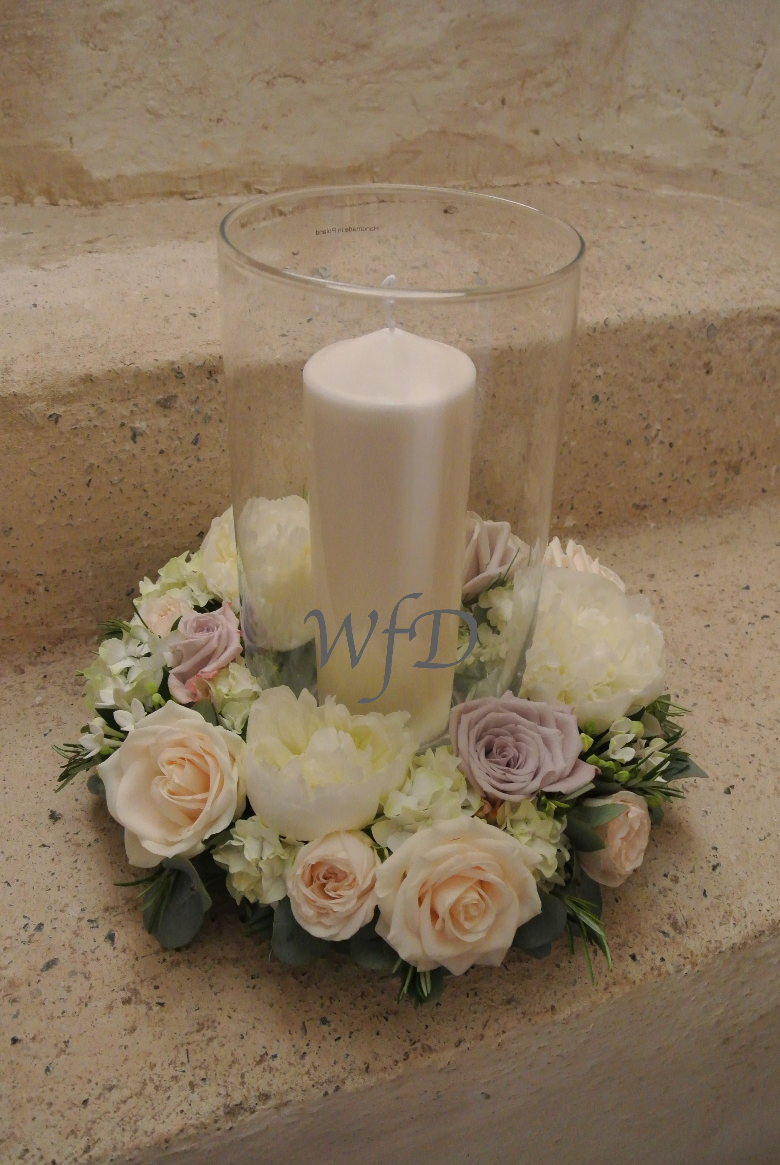 Hurricane vase with flower ring torre abbey wedding torquay hurricane vase with flower ring torre abbey wedding torquay reviewsmspy