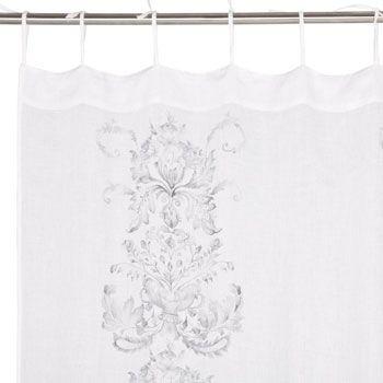 Floral Linen Curtain 99 Zara Home