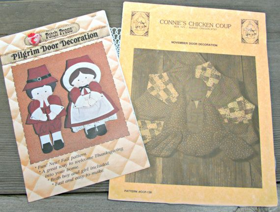 Vintage Sewing Patterns  Thanksgiving by TheVintageDresser on Etsy