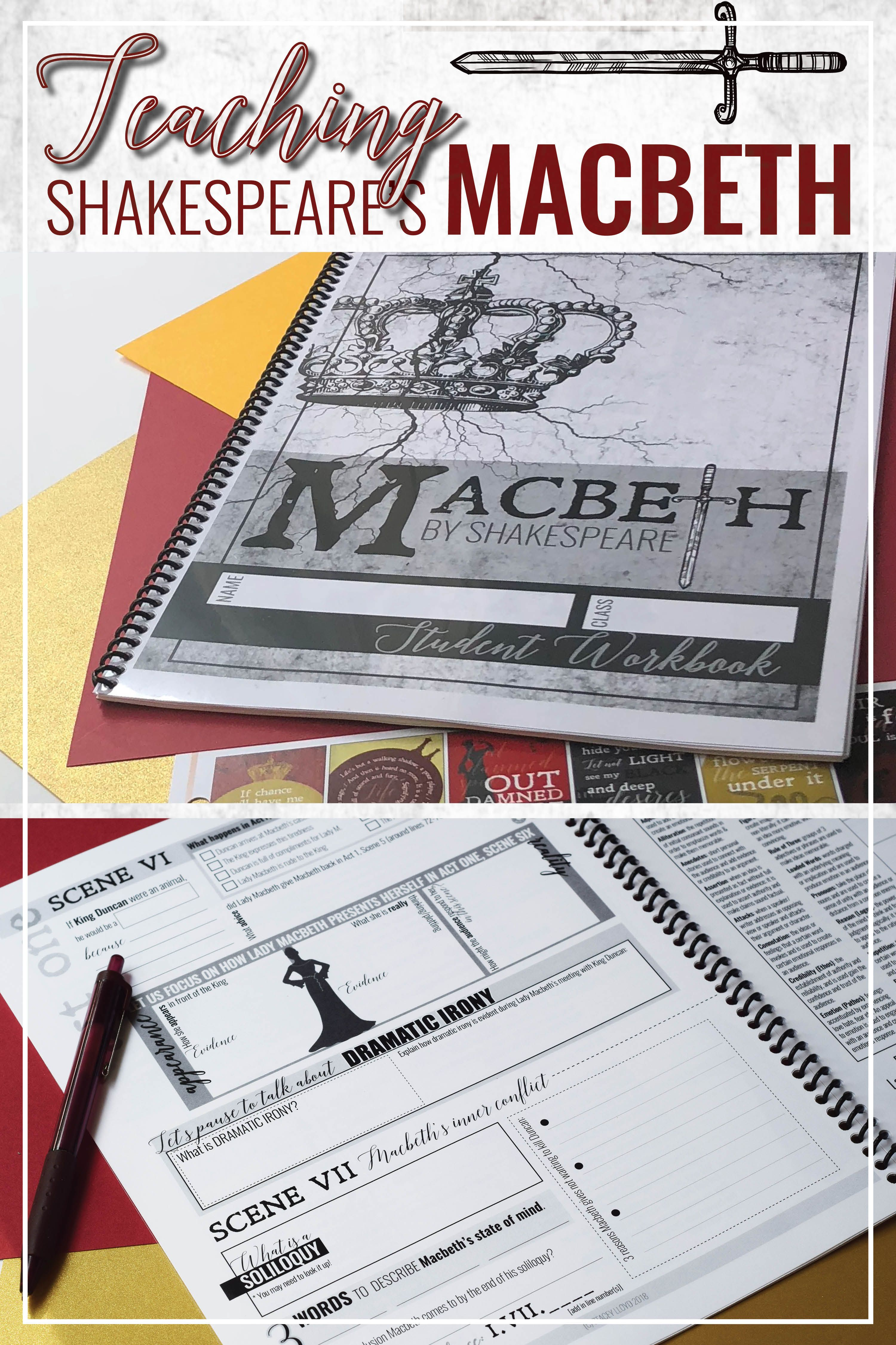 Engaging Resources For Teaching Macbeth By Shakespeare