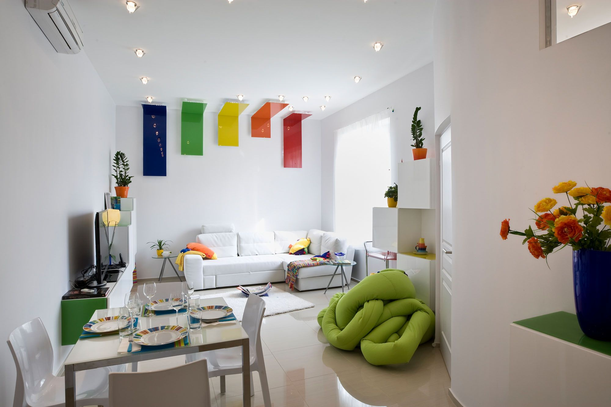 Inspirations Room Decorations Wall Color Design Ideas Interior Colorful Ornaments Striking For White Home