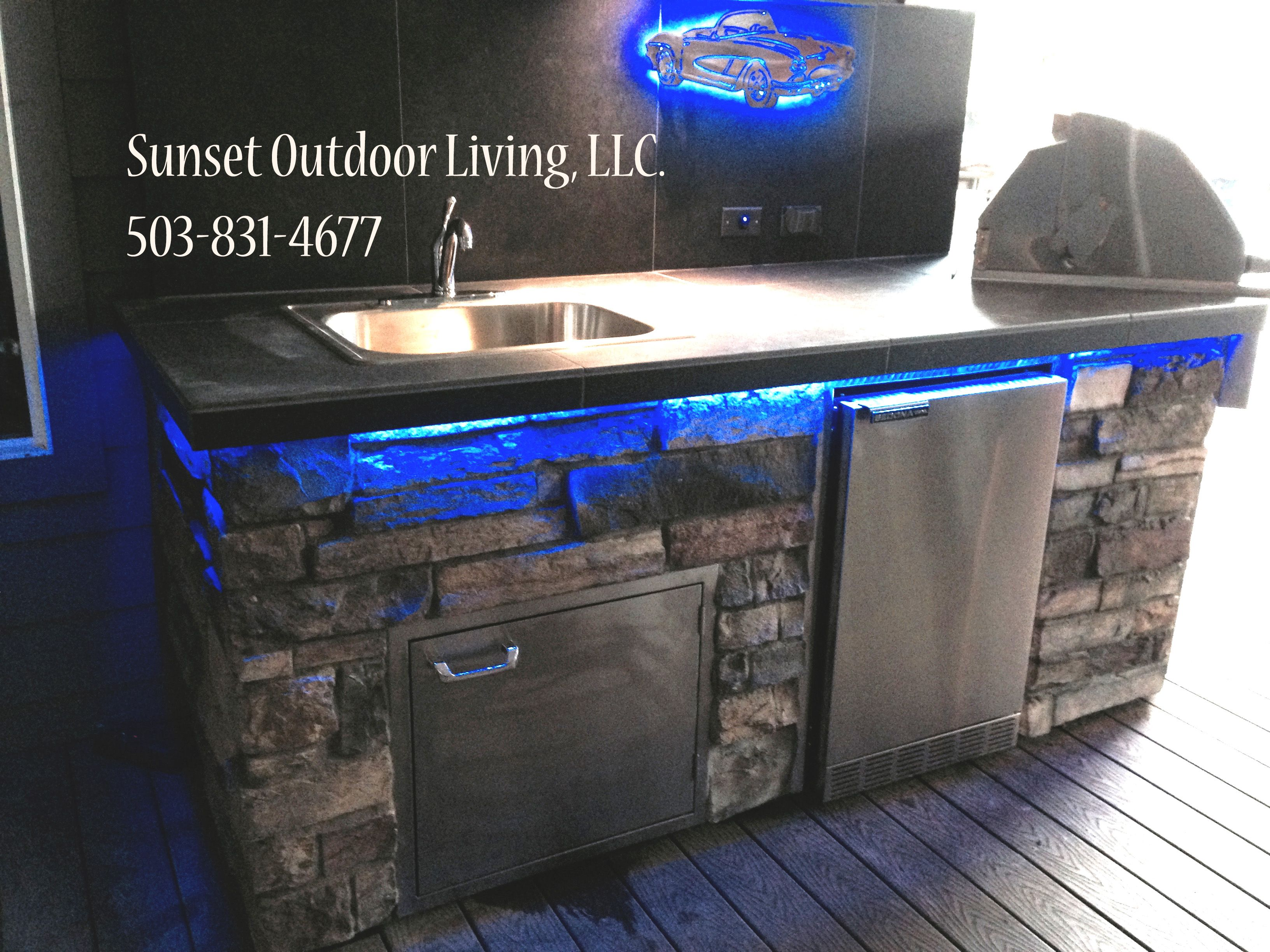 Commercial Residential Clubs Resorts Sunset Outdoor Living Llc Creating Delivering Inst Luxury Outdoor Kitchen Outdoor Living Design Outdoor Kitchen