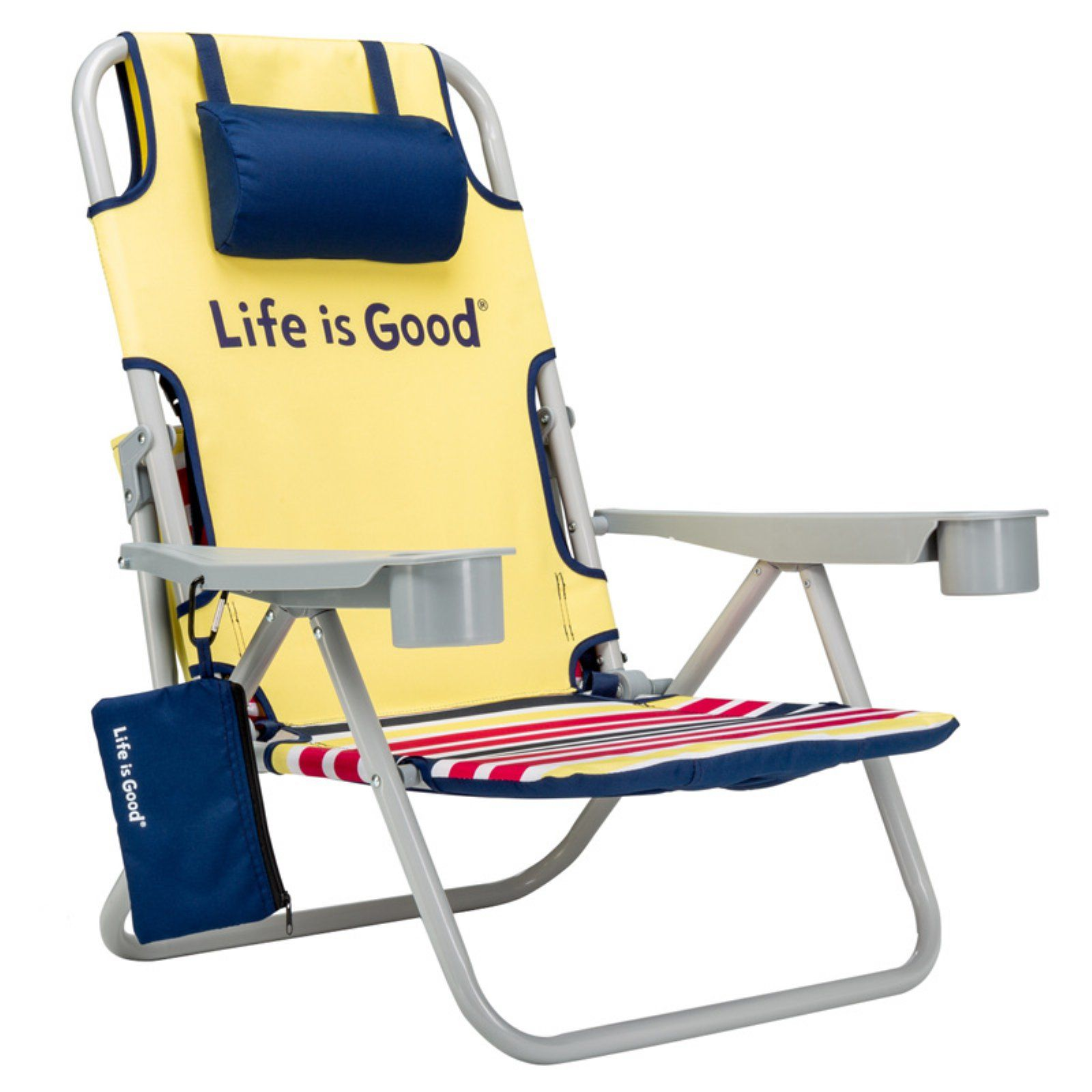 Magnificent Outdoor Life Is Good Yellow Daisy Beach Chair Products In Pabps2019 Chair Design Images Pabps2019Com