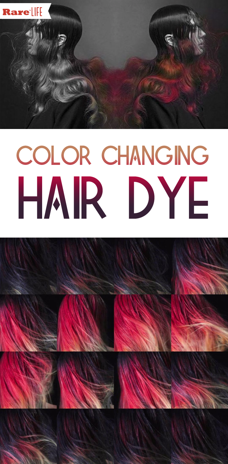 This Hair Dye Of The Future Changes Color With The
