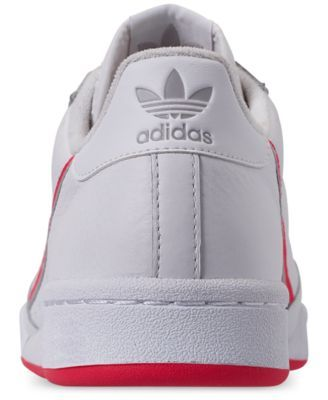 2ca3a2bd99847 adidas Women s Originals Continental 80 Casual Sneakers from Finish Line -  White 8.5